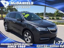 Acura Mcx 2016 Used Acura Mdx Fwd 4dr W Acurawatch Plus At Mcdaniels Auto