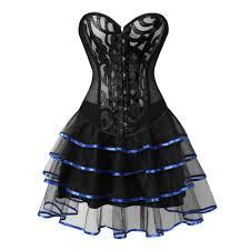 Black Corset Halloween Costume Halloween Costumes Corsets Promotion Shop Promotional