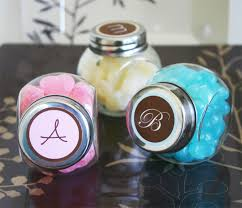 jar favors jars with monogram