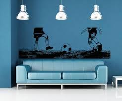 vinyl wall decal sticker kid s soccer field 5070