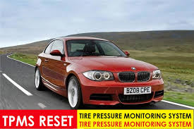 reset tyre pressure bmw 3 series bmw 1 series e88 2008 2013 tpms reset mechanic handbook