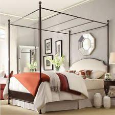 Iron Canopy Bed Iron Canopy Bed Ebay