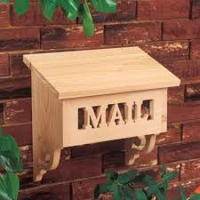 Outdoor Wood Project Plans by Best 25 Wooden Mailbox Ideas On Pinterest Eclectic Kids