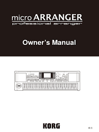 korg microarranger owners manual synthesizer headphones
