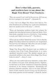 sabertooths ice age magic tree house fact tracker