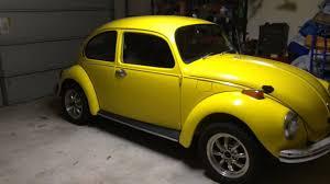 volkswagen buggy yellow 1972 volkswagen super beetle cold start youtube