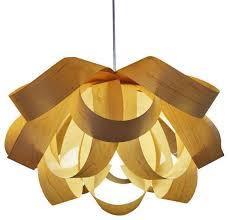 Wood Veneer Pendant Light 15 Ideas Of Wood Veneer Pendant Lights