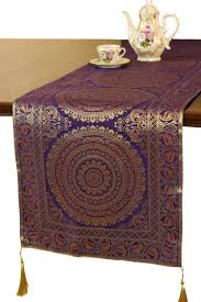 Coffee Table Runners Exotic Oriental Table Runner Asian Table Runners By Banarsi