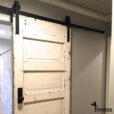 Sliding Horse Barn Doors by The Single Track Bypass Barn Door Hardware Kit Allows Two Doors To