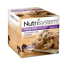 nutrisystem enjoy full chocolate chip cookies 1 3 oz 4 count