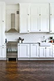 gray kitchen white cabinets black and white subway tile backsplash kitchen fabulous white
