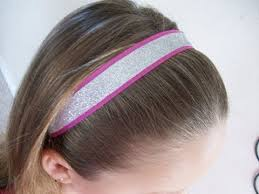 glitter headbands make glitter sport headbands