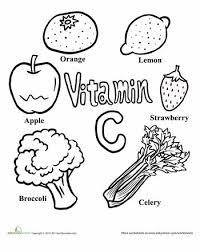 unhealthy food coloring page