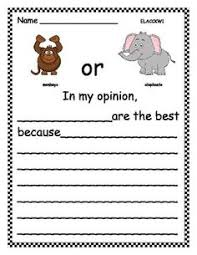 opinion writing 1 introduce your beginning writers to the idea of
