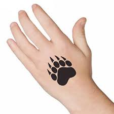 bear claw paw tattooforaweek temporary tattoos largest temporary