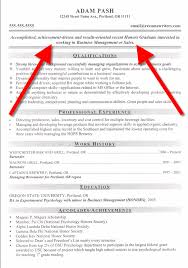 Free Sample Professional Resume by Resume Styles Examples
