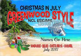 Door Sign Christmas Turtle on Beach  Custom Cruise Wear