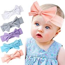 baby headwrap tacobear baby girl headbands with bow elastics
