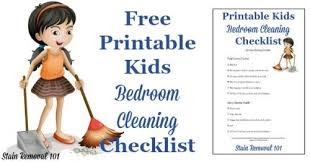 cleaning bedroom checklist bedroom cleaning checklist help kids know expectations for this chore