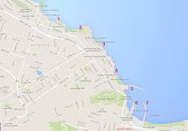 San Francisco Walking Map by San Francisco Day 5 U2013 Monterey U2013 The Norconk