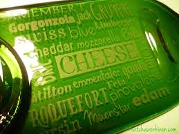 wine bottle cheese trays etched flattened wine bottle cheese tray whatcha workin on