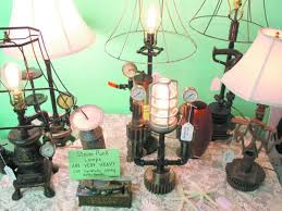 bluffton lamp maker channels steampunk aesthetic bis business