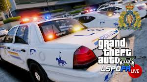 gta 5 lspdfr live rcmp royal canadian mounted police patrol