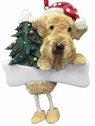 breed ornaments dangling legs ornaments
