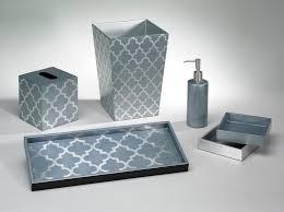 glamorous grey and blue bathroom decor pics design ideas