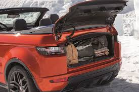 range rover convertible roofless streak range rover evoque finally goes convertible for