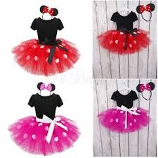 minnie mouse costume kids baby party minnie mouse ballet tutu dress