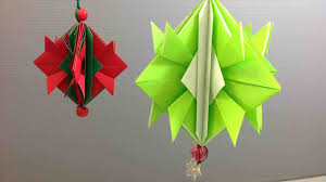 of paper easy tree yube home made how to make christmas