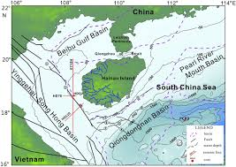 Map Of South China Sea Last Glacial Cycle And Seismic Stratigraphic Sequences Offshore