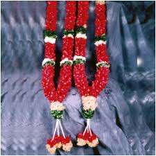 Flower Garland For Indian Wedding Send Gifts For Bride To Hyderabad Vizag Vijayawada Guntur