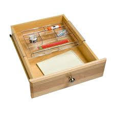 Acrylic Desk Drawer Organizer Expanding Acrylic Drawer Organizer The Container Store