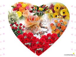 happy screensavers flower happy day valentines heart flowers valentine flower