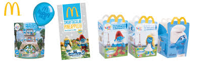 smurfs 2 u201d toys mcdonalds bulls licensing connecting brands