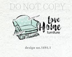furniture logo etsy