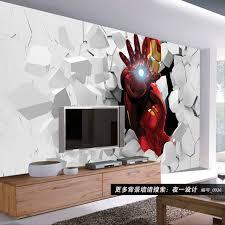wallpaper kids bedrooms 3d iron man photo wallpaper custom wall murals amazing wallpaper