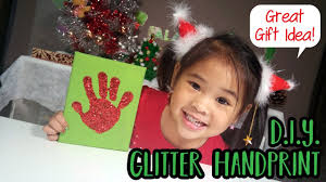 fun hand print craft and great gift idea for parents grandparents