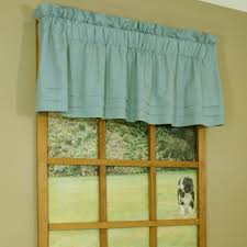 window treatments blue valances for living room modern living