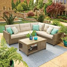 Members Mark Patio Grill Member U0027s Mark Agio Collection Park Place Sunbrella Seating Set