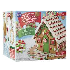 Gingerbread House Decoration Wilton Ready To Decorate Mega Gingerbread House Decorating Kit