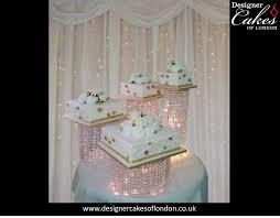 roma wedding crystal wedding cake luxury wedding cakes london