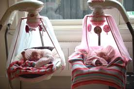Pink Swinging Baby Chair Baby Twins Checklist