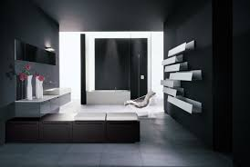 Modern Black And White Bathroom Designs  The Home Design - Black bathroom designs