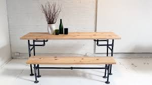 homemade modern episode 3 diy wood iron table youtube