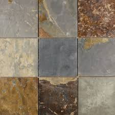 Faux Slate Floor Tiles Slate Tiles Interior And Exterior Residential Tile Floors And
