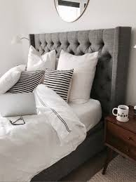 Grey Tufted Headboard Crystalinmarie Liketoknow It For The Home Pinterest Grey