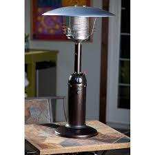 Patio Heater Table Tone Bronze Finish Table Top Patio Heater